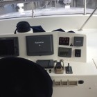 Grand Banks Yachts Before Refit upper Helm