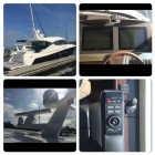 Tiara yachts in Jacksonville Florida, this boat is equipped with a full Garmin system KVH sat down and Flir camera