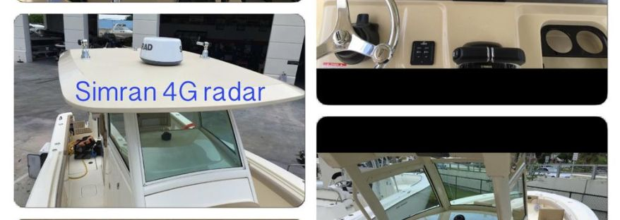 Grady White with Simrad system and 4G Radar