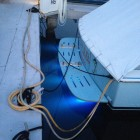 Yacht Stern with Cables