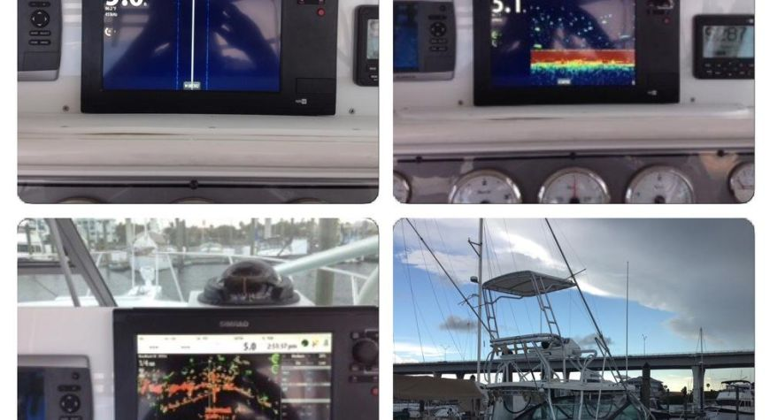 Well Craft With Simrad NSS-12 on the Helm and NSS-7 in the Tower, 4G Radar, Side Scan and Down Scan, and 1KW Chirp Ducer
